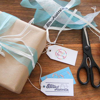 Bits of Australia gift wrapping