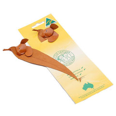 Koala leather bookmark