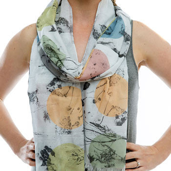 Forage scarf voile