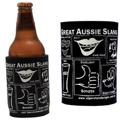 Great Aussie slang stubby holder