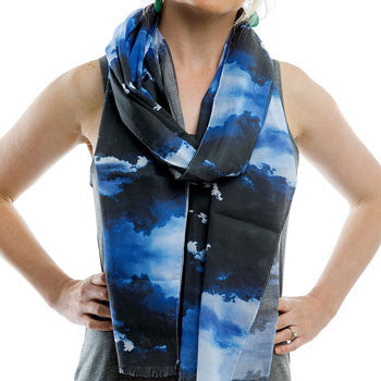 Voile storm fashion scarf