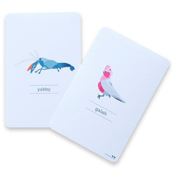 Australian animal flashcards