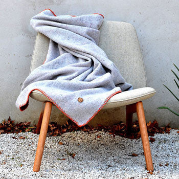 Australian wool throw