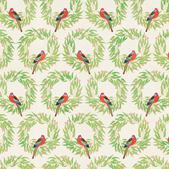 Rosella christmas wrapping paper