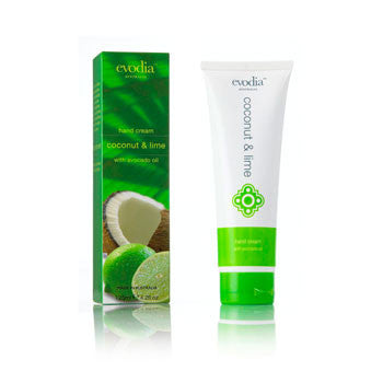 Coconut and lime hand cream