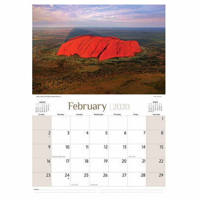 2020 Souvenirs Calendars Printed in Australia