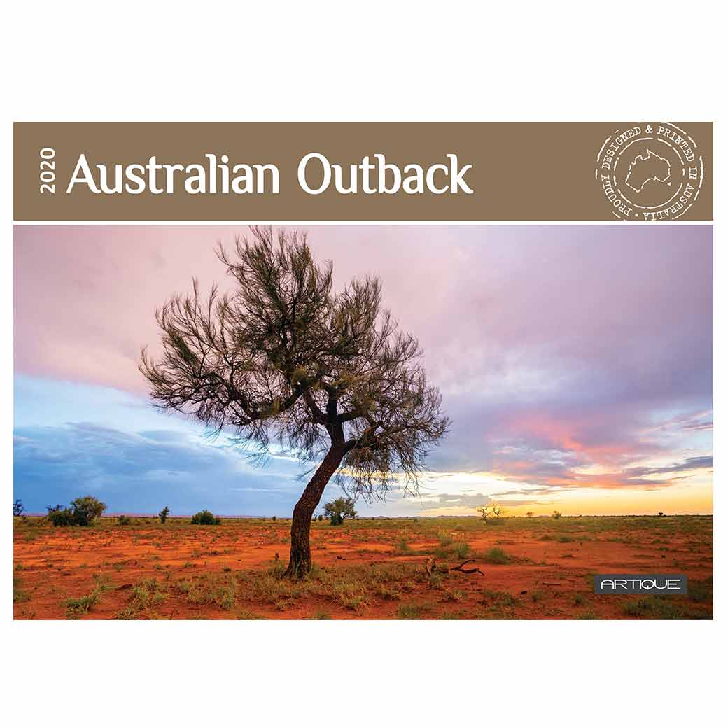 2020 Made in Australia Outback Calendar featuring Silo art