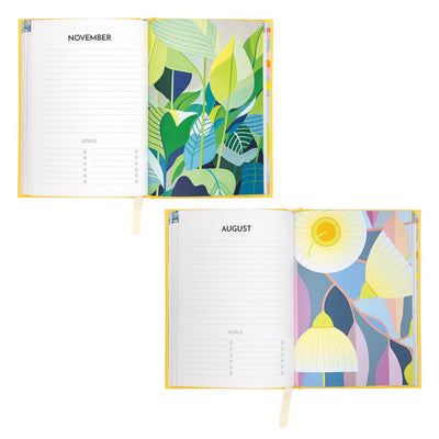 Australian Christmas Gifts for Women - 2020 Hard Cover Diary Claire Ishino Diary