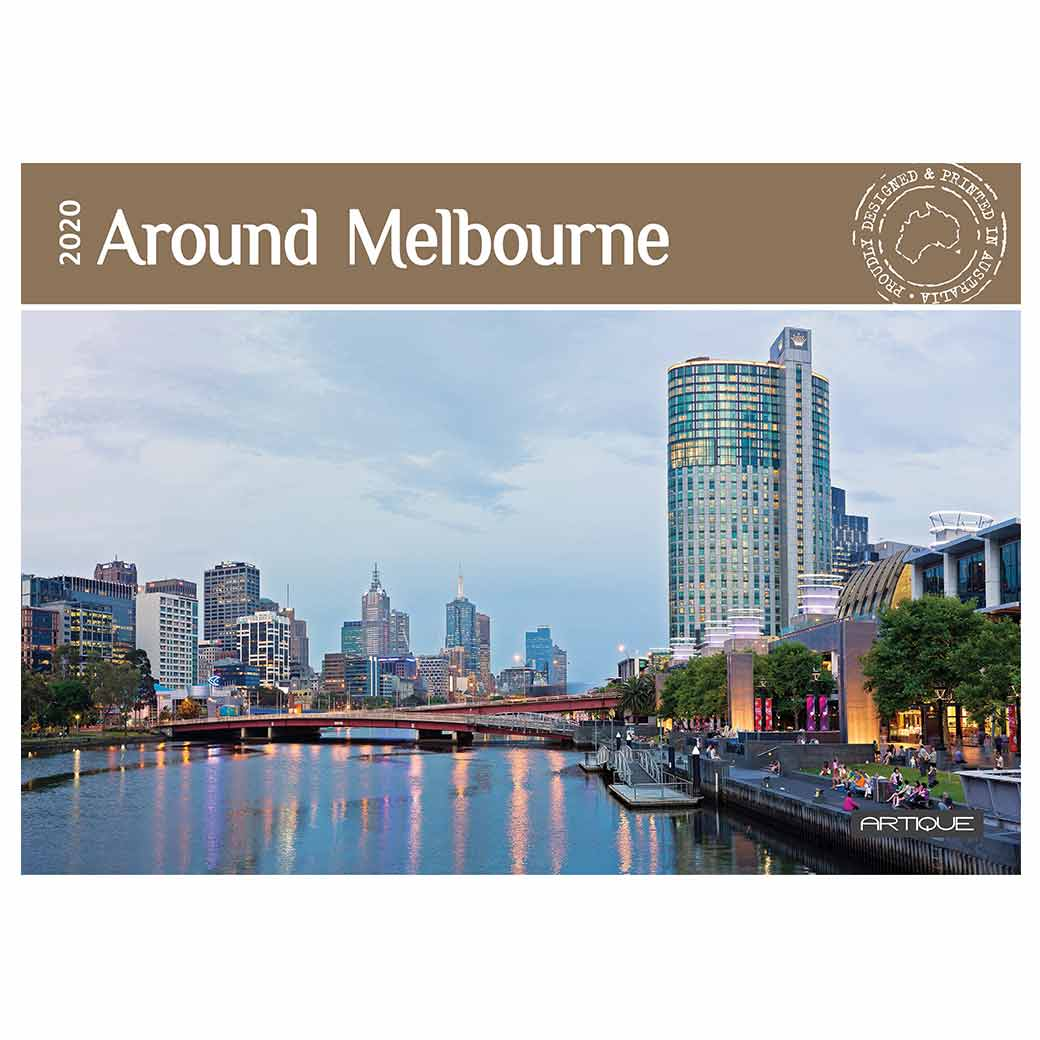 2020 Melbourne Souvenir Calendar Made in Australia Gifts for Overseas