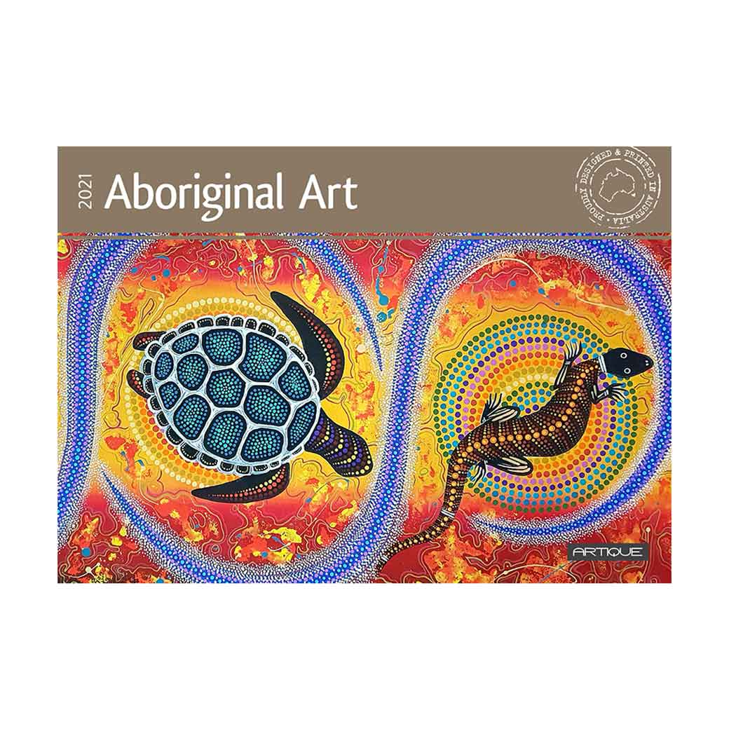 2021-Australian-Aboriginal-Wall-Calendar Made in Australia