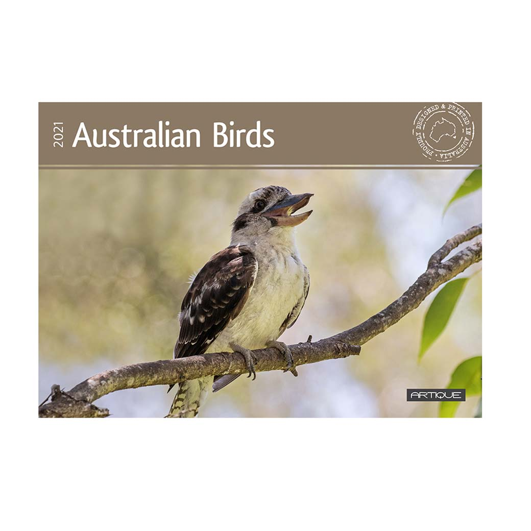 2021 Australia Bird Calendar For the Best Australian Gifts to Send Overseas