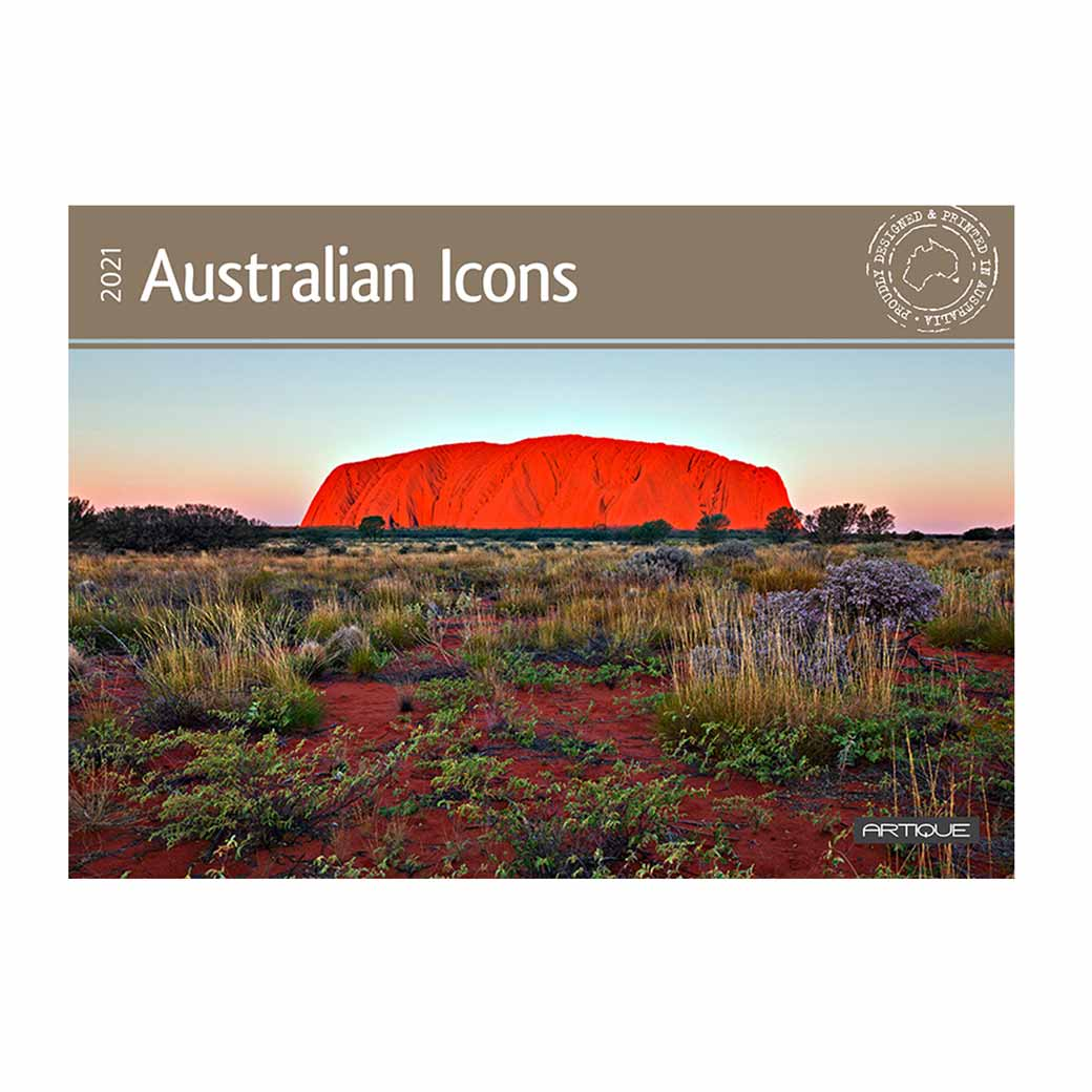2021 Australian Icons Calendar Send It To The USA & UK
