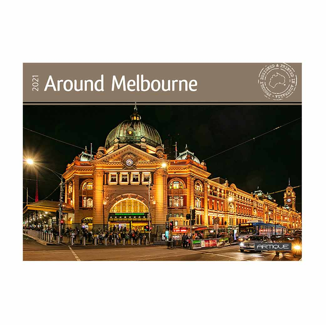2021 Melbourne Souvenir Calendar Made in Australia Gifts for Overseas