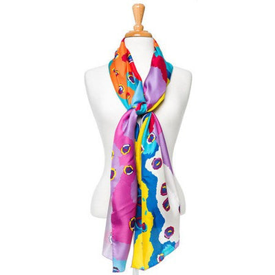 Australian Made Gifts & Souvenirs with the Saraeva Marshall Silk Scarf -by Alperstein Designs. For the best Australian online shopping for a Scarves - 2