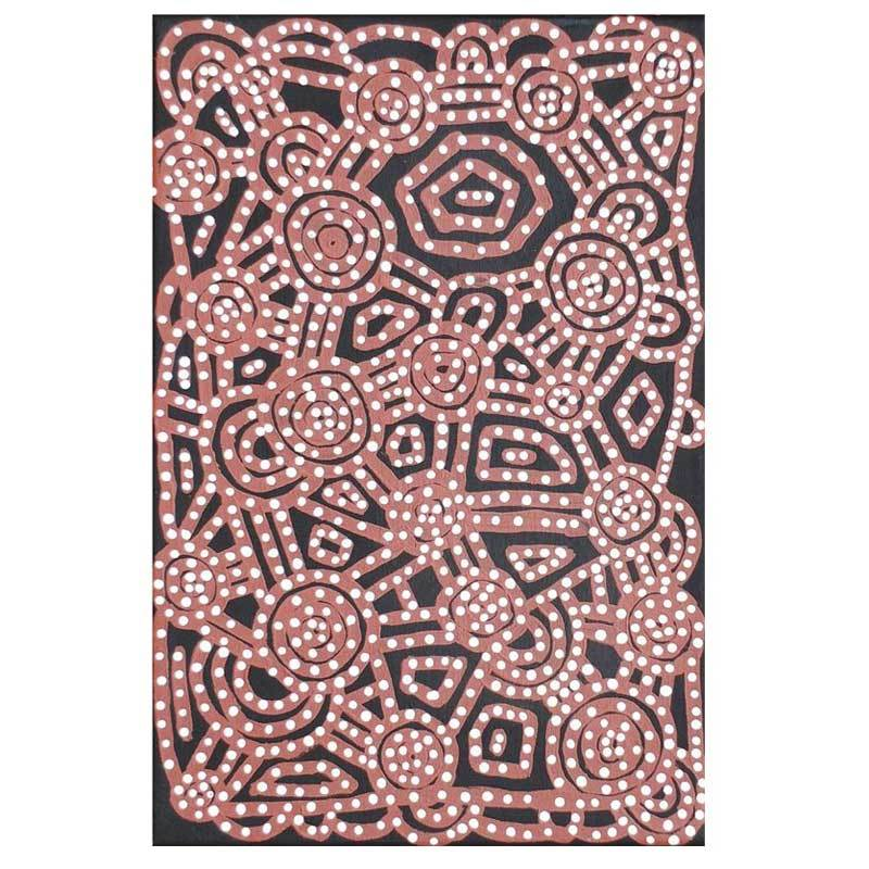 The Best Place to Buy Aboriginal Art in Sydney - Bits of Australia Paint Bush Potato Dreaming