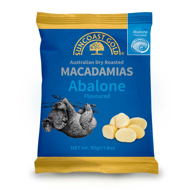 Abalone Australian Made Macadamias - Unique Australian Food Gifts