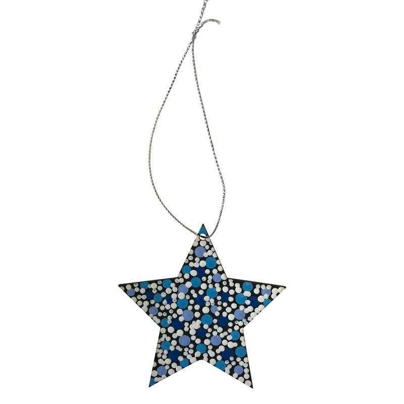 Australiana Christmas Star Decorations