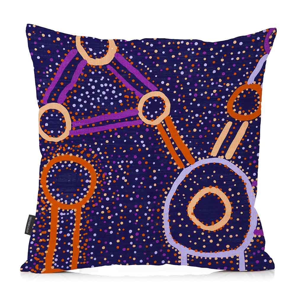 Buy Homewares Online Australia - Purple Watson Roberston Cushion