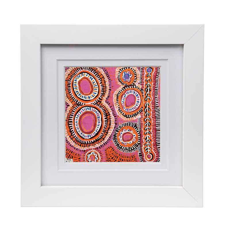 Australian Wedding Gifts Framed Aboriginal Print - Murdie Morris