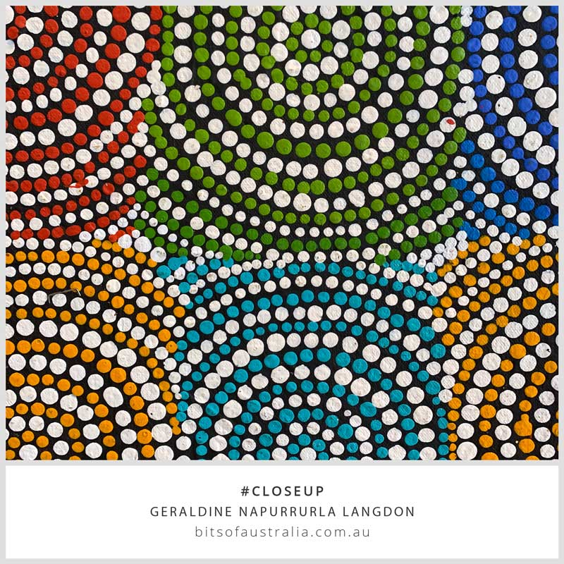 Aboriginal Art - Native Seed Dreaming 61 x 46cm
