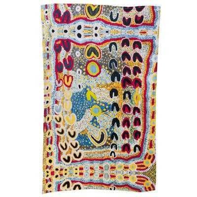 Rosie Lala Australian Aboriginal Art Tea Towel Bits Of