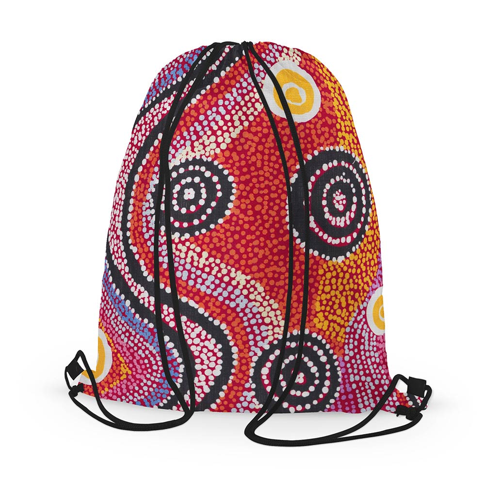 Souvenirs from Australia - Otto Sims Drawstring Bag