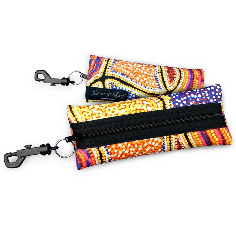 Light Gifts from Australia - Aboriginal Designs Sunglasses Case