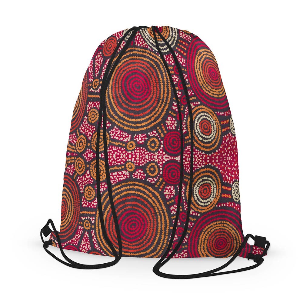 Aboriginal gifts made in Australia - Teddy Gibson bag