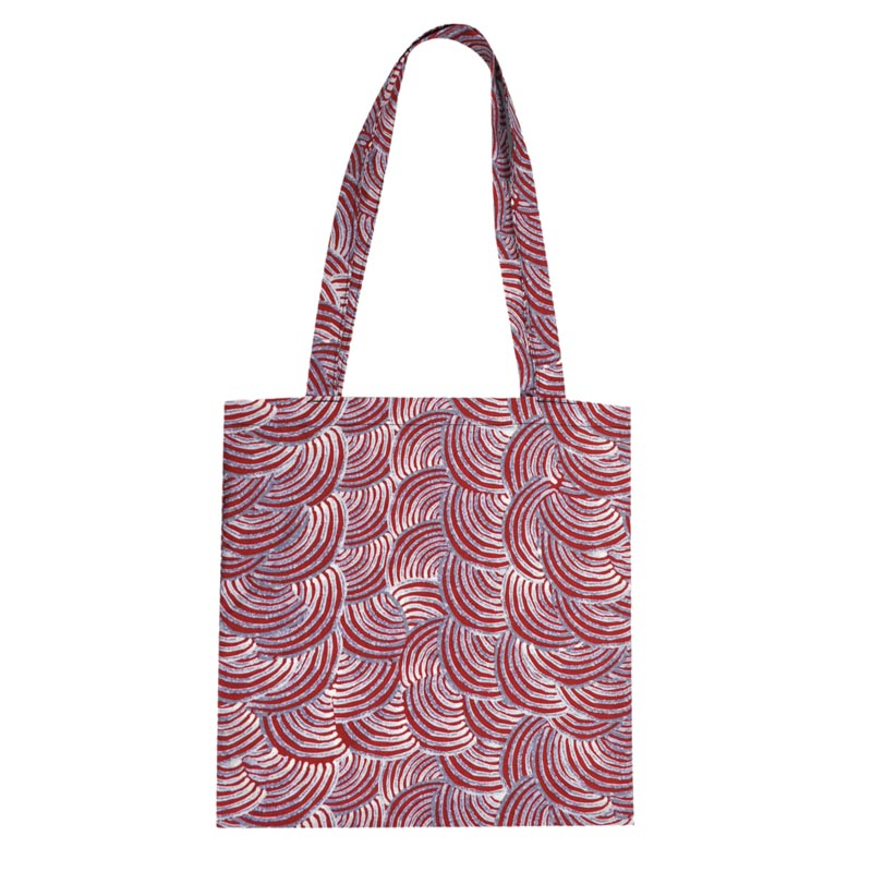 Aboriginal Design Water Dreaming Shopping Bag
