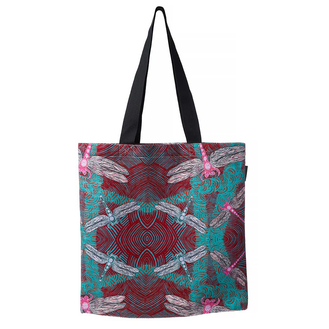 Aboriginal Art Tote Bag - Ocean