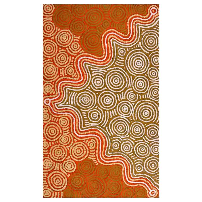 Aboriginal-Wall-Art-Australia-by-Geraldine-Nangala-Gallagher.