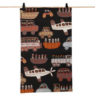 Australian Made Gifts & Souvenirs with the Off to the Footy Tea Towel -by Alperstein Designs. For the best Australian online shopping for a Tea Towels - 1