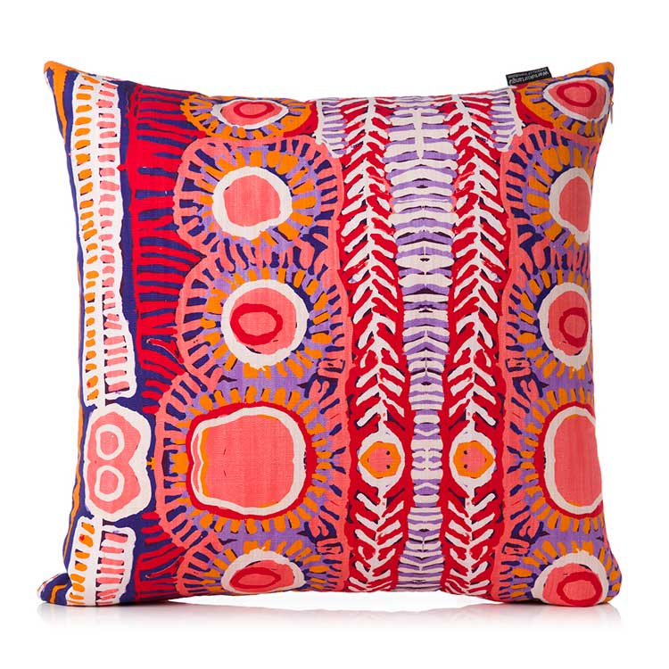 Aboriginal Cushion Cover Murdie Morris