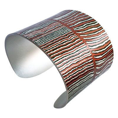 Australian Made Gifts & Souvenirs with the Women's Dreaming Wide Bracelet Cuff -by Occulture. For the best Australian online shopping for a Jewellery - 1