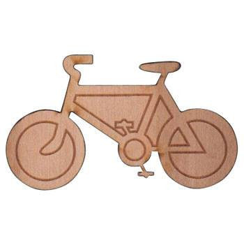Bicycle Wooden Magnet