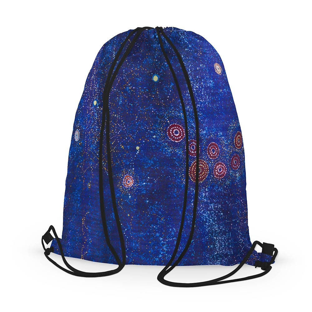 Alma Granites Drawstring Backpack for Exchange Student Gifts Australia