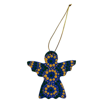 Aboriginal Art Angel Decoration