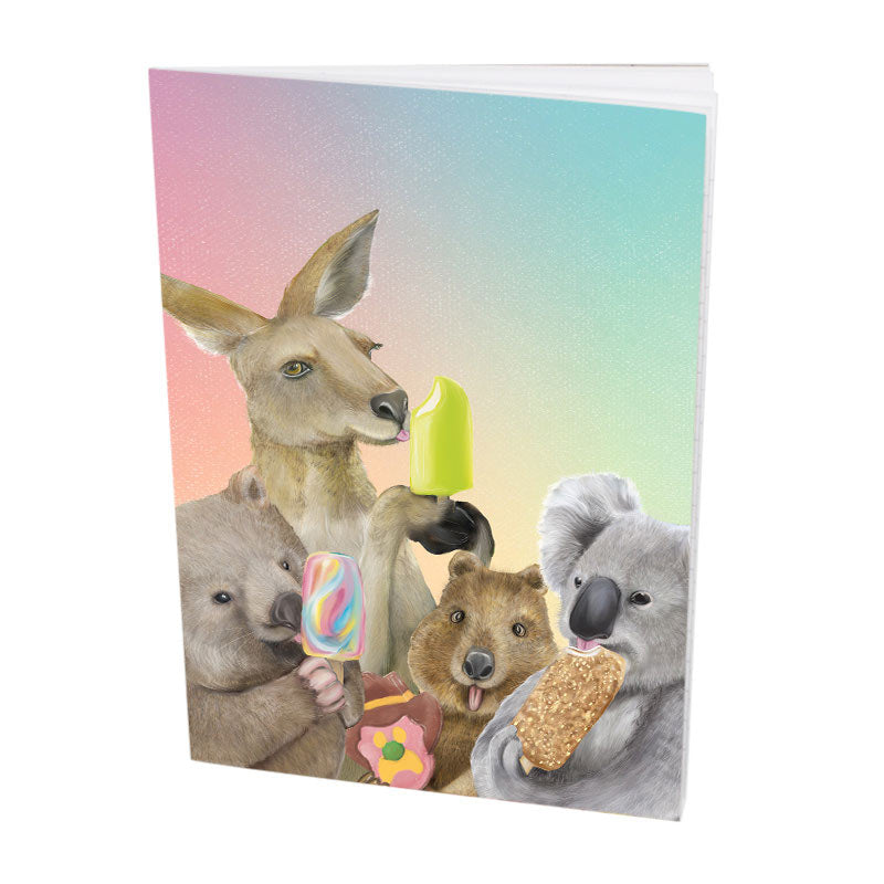 Aussie Animal Souvenirs Notebook - Unique Stationery Made in Australia