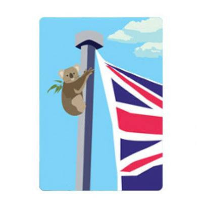 Australian Made Gifts & Souvenirs with the Aussie Koala Magnet -by Mokoh Design. For the best Australian online shopping for a Magnets
