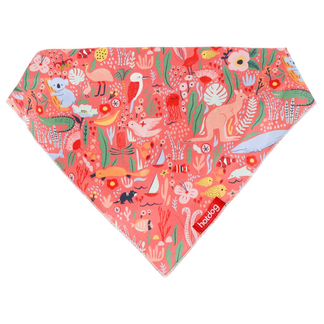 Australian themed dog bandana the ultimate pet accessory made in Australia