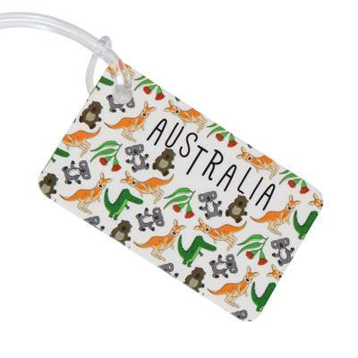 Australian Made Gifts & Souvenirs with the Australia Luggage Tag -by Bits of Australia. For the best Australian online shopping for a Luggage Tag - 1