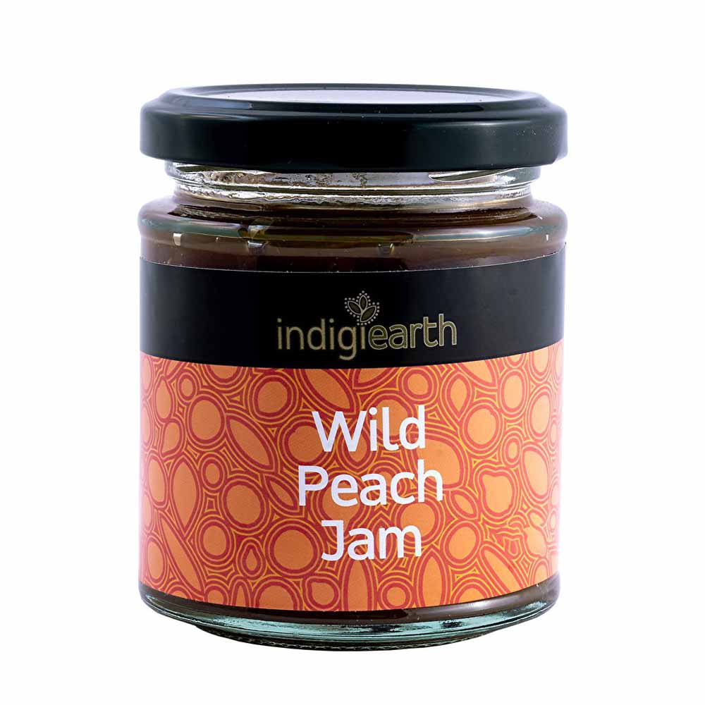 Australian Native Bush Foods Wild Peach Jam by Indigiearth