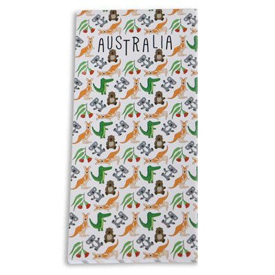 Australian Made Gifts & Souvenirs with the Australia Notepad -by Bits of Australia. For the best Australian online shopping for a Stationery - 1