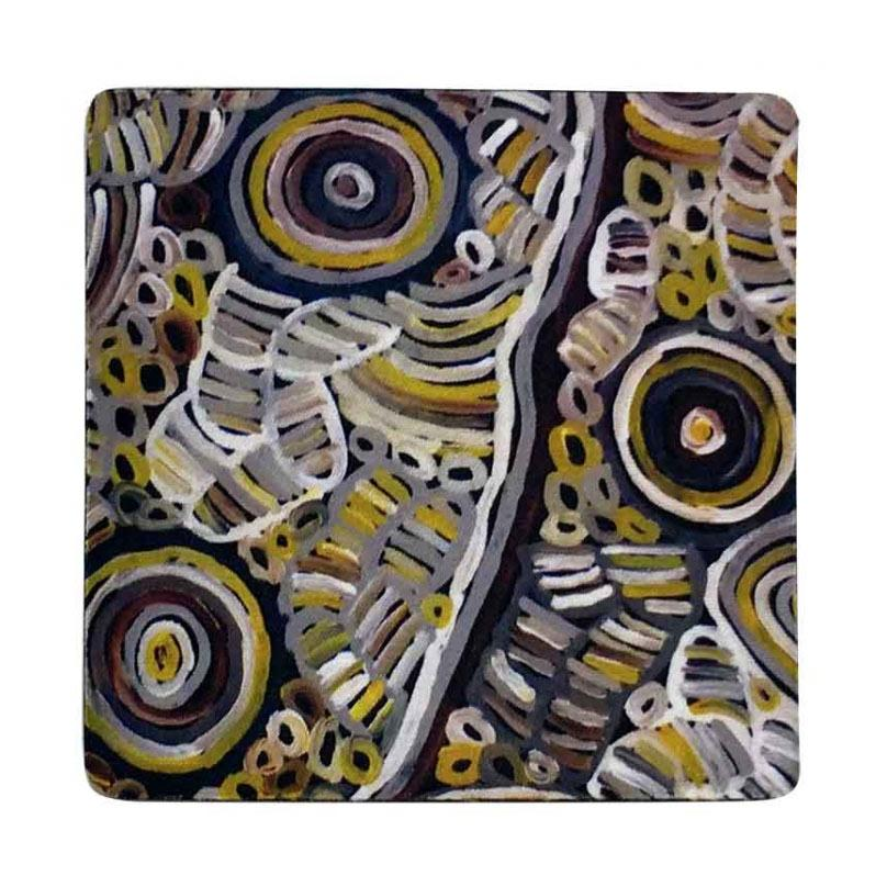 Aboriginal Art Coaster Betty Club