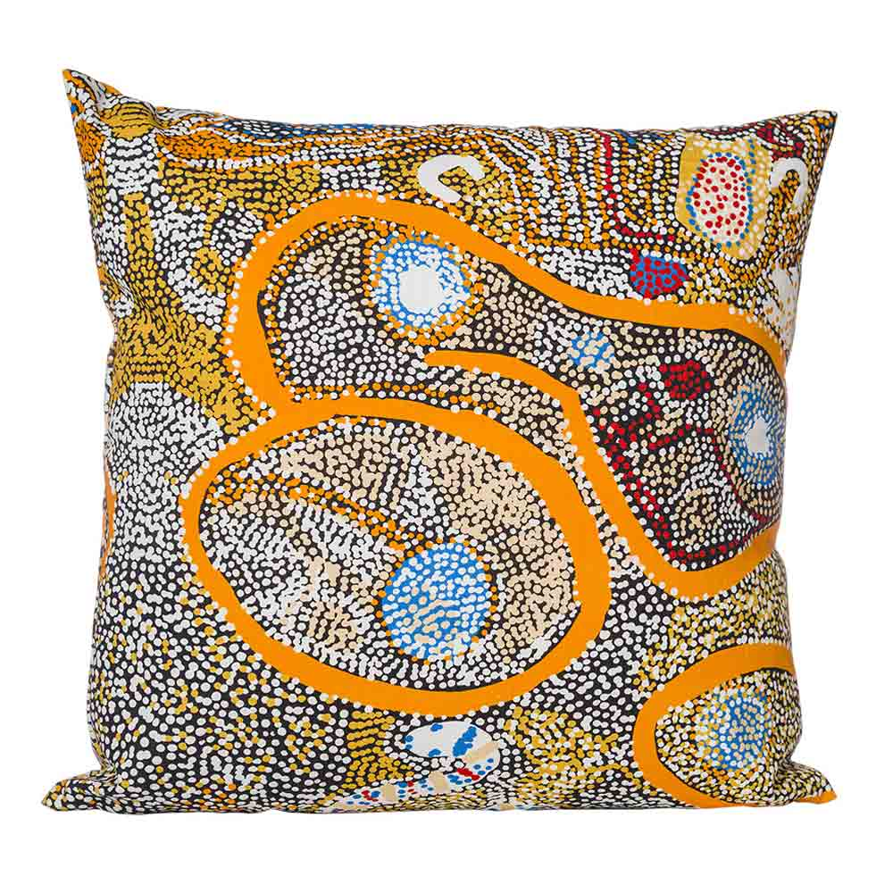 Ethical Australian Homewares - Aboriginal Cushion Covers Elaine Lane