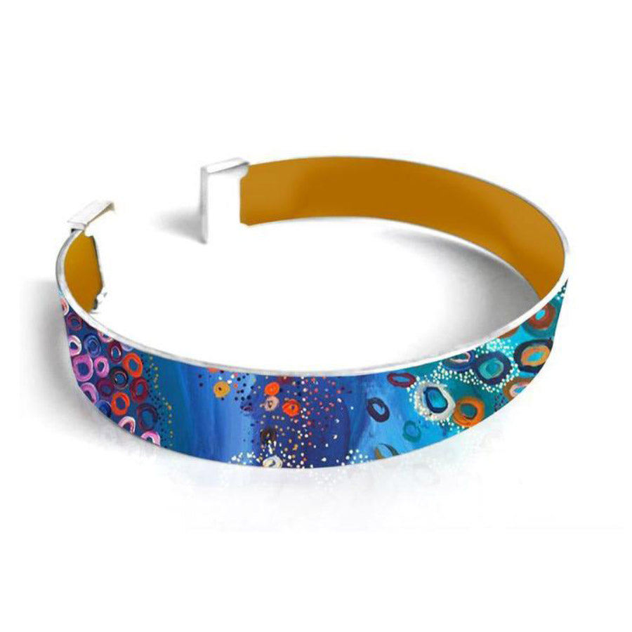 Unique Australian Gifts for Women - Aboriginal Jewellery Bracelet Cuff