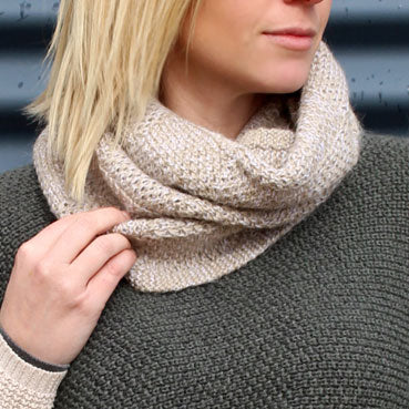 Alpaca Merino Cream Scarf Made in Australia Gifts for Men & Women