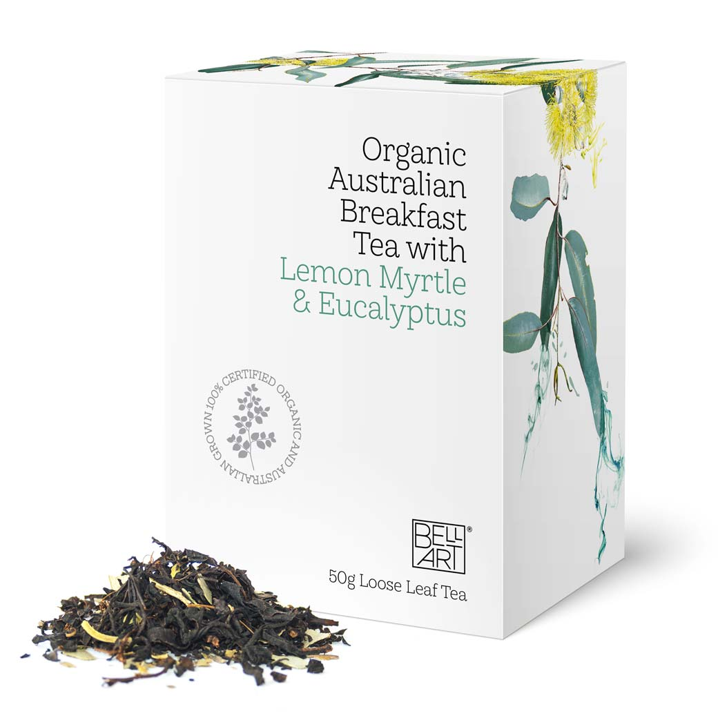 Organic Australian Breakfast Tea Unique Gifts for Tea Lovers