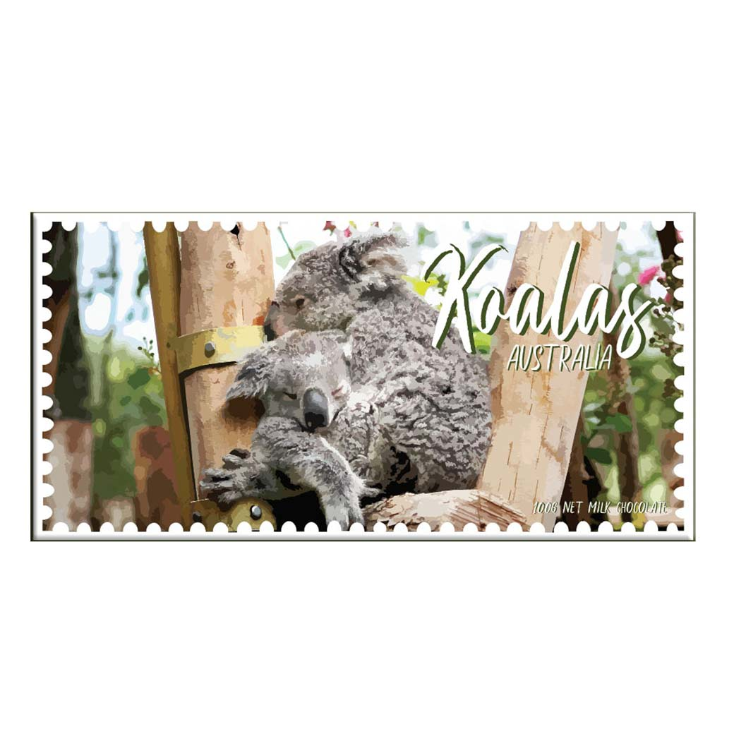 Koala Lovers Chocolate Bar Made in Australia
