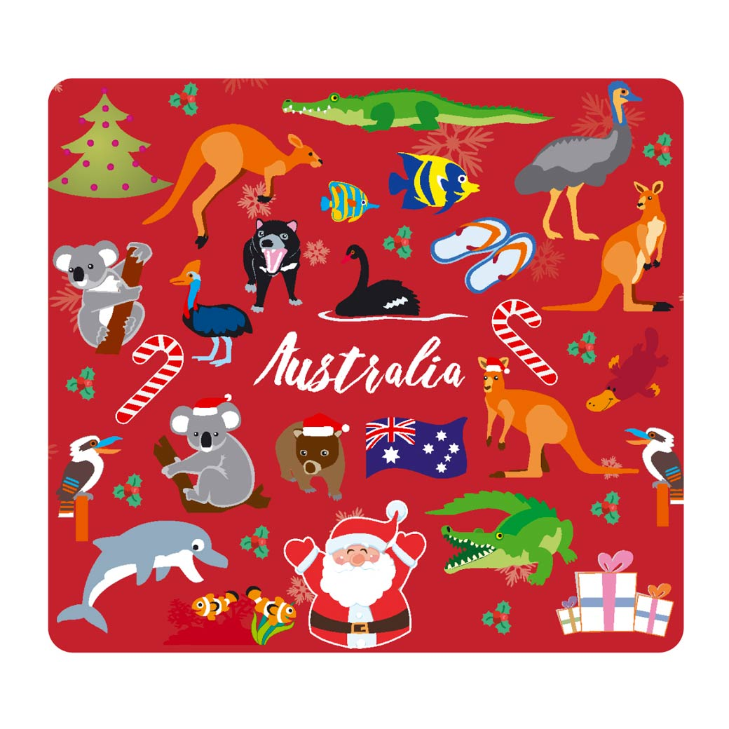 Australian Christmas Themed Coasters